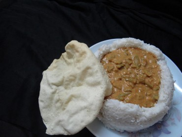 Cluster beans kulambu