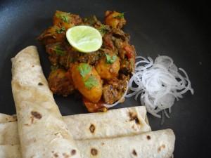 Aloo bhindi masala